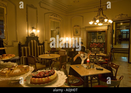 Pera Palas Hotel Istanbul Turkey The Patisserie - Stock Photo