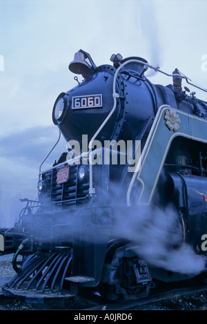 Steam Train in the Rockies 3 - Stock Photo