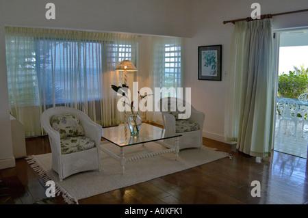 SpyGlass Private Villa Round Hill Montego Bay Jamaica - Stock Photo