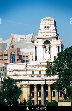 Former Port of London Authority building and Minster Court City of London UK - Stock Photo