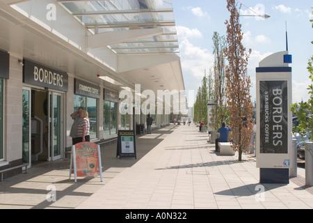 Gallions Reach Shopping Park Beckton Newham - Stock Photo