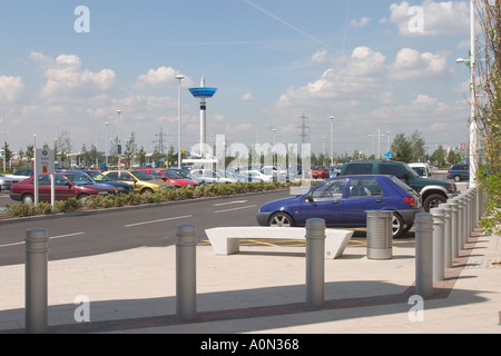 Gallions Reach Shopping Park Beckton  London Borough of Newham GB UK - Stock Photo