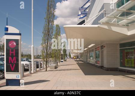 Gallions Reach Retail Shopping Park Beckton Newham East London UK - Stock Photo