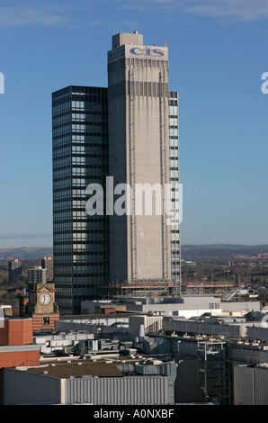 CIS Co operative Insurance Society tower Miller Street Manchester UK - Stock Photo
