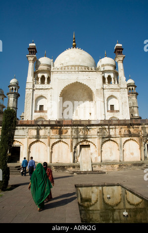 The Bibi ka Maqbara built by Azam Shah in 1678 as a son s tribute to his mother Begum Rabia Durrani the Queen of - Stock Photo