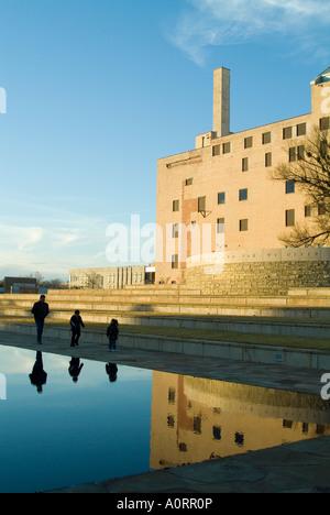 Oklahoma City National Memorial Oklahoma United States of America North America - Stock Photo