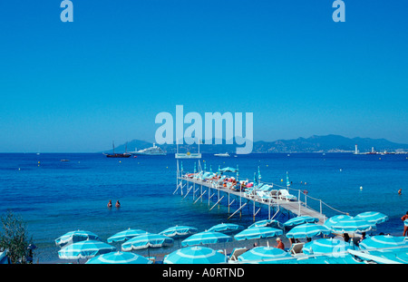 Landing Stage / Cannes / Steg - Stock Photo