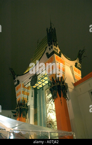 Graumann s Chinese Theater on Hollywood Boulevard - Stock Photo