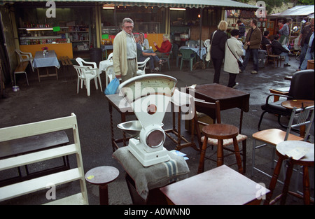 Used and antique furniture for sale at Greenwich Market - Second Hand Used British Chairs, Bric-a-brac And Antiques For Sale