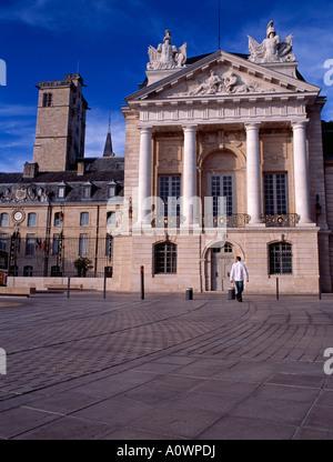 Palace of the Dukes of Burgundy (Le palais des Ducs) Dijon Burgundy France - Stock Photo