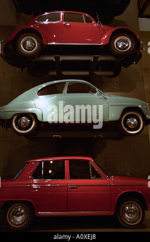 United Kingdom, England, London. Vintage cars at the Science Museum