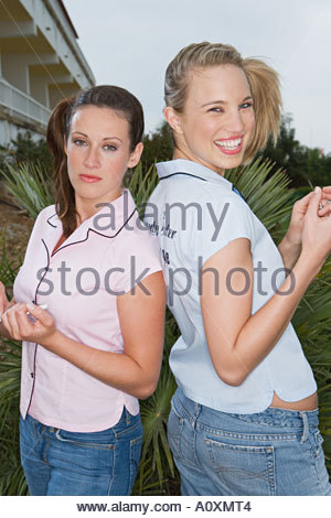 Two manicurists - Stock Photo