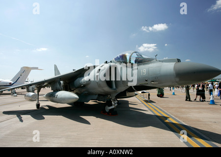 Italian Navy Marina McDonnell Douglas AV 8B harrier RIAT 2005 RAF Fairford Gloucestershire England UK - Stock Photo