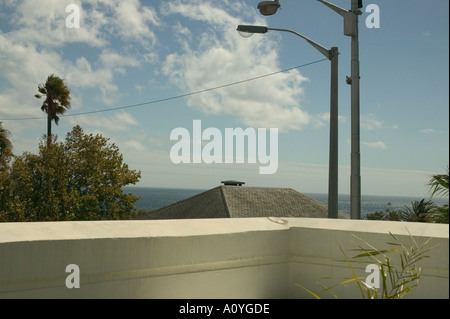 Holiday apparment view - Stock Photo