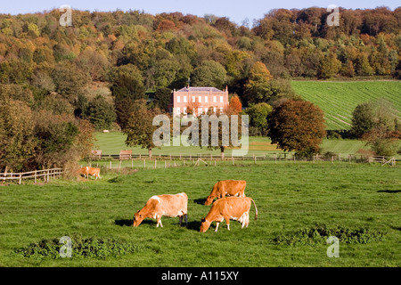 Hambleden Village - Thames Valley - Buckinghamshire - Stock Photo