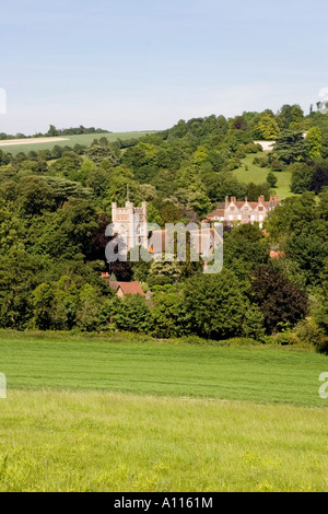 Hambleden Village Thames Valley Bucks - Stock Photo