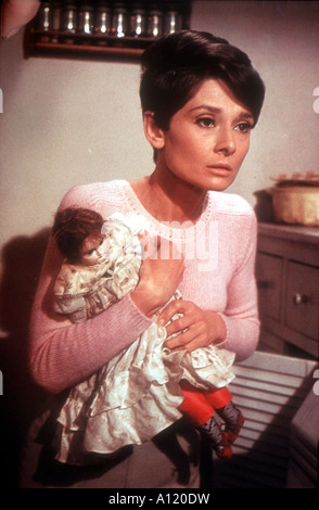 Wait Until Dark Year 1967 Director Terence Young Audrey Hepburn - Stock Photo