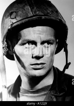 Take The High Ground Year 1953 Director Richard Brooks Richard Widmark - Stock Photo