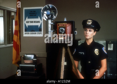 Raising Arizona Year 1986 Director Joel Coen Holly Hunter - Stock Photo
