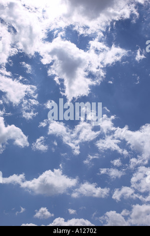 Clouds & Blue Sky - Stock Photo