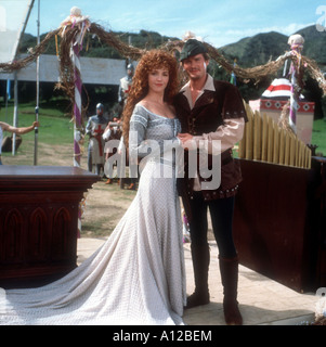 Robin Hood Men in Tights Year 1993 Director Mel Brooks Cary Elwes Amy Yasbeck - Stock Photo