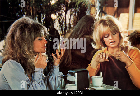 Shampoo Year 1975 Director Hal Ashby Goldie Hawn Julie Christie - Stock Photo