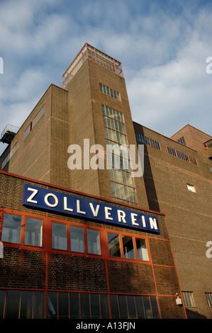 Design Mine Zollverein, Essen, Germany. Mischanlage, Coking Plant. - Stock Photo
