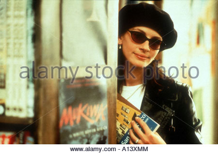 Notting Hill Year 1999 Director Roger Michell Julia Roberts - Stock Photo