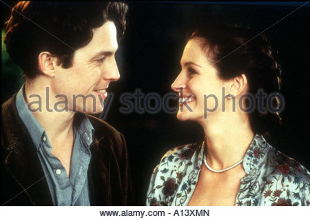 Notting Hill Year 1999 Director Roger Michell Julia Roberts Hugh Grant - Stock Photo