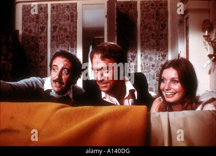 The Return Of The Pink Panther Year 1975 Director Blake Edwards Peter Sellers Christopher Plummer Catherine Schell - Stock Photo