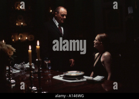 Hannibal Year 2001 Director Ridley Scott Anthony Hopkins Julianne Moore - Stock Photo