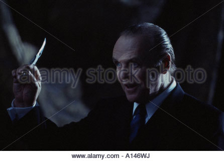 Hannibal Year 2001 Director Ridley Scott Anthony Hopkins - Stock Photo