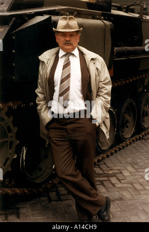 A TOUCH OF FROST David Jason in 1996 UK TV police series - Stock Photo