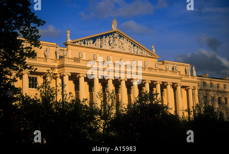Cumberland Terrace by John Nash Regents Park London England UK A Woolfitt - Stock Photo