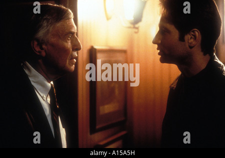 The X Files The Movie Year 1998 Director Rob Bowman David Duchovny Martin Landau - Stock Photo