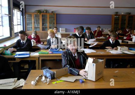 South Africa People Oudtshoorn High School Struis Boys Girls Teenagerr - Stock Photo