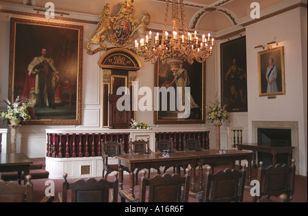 The Guildhall Windsor Berkshire where Prince Charles and Camilla  Parker  Bowles were married. HOMER SYKES - Stock Photo
