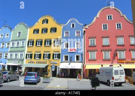 Austria, Upper Austria, Schaerding - Stock Photo