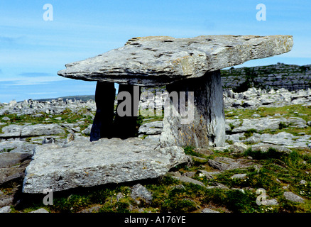 Drombeg prehistoric stone circle henge Cork Irish Ireland - Stock Photo