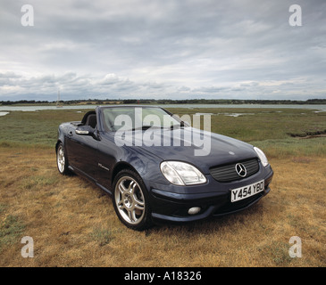 2001 mercedes benz slk 320 amg stock photo royalty free image 99112 alamy. Black Bedroom Furniture Sets. Home Design Ideas