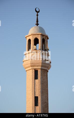 Minaret in Amman Jordan - Stock Photo