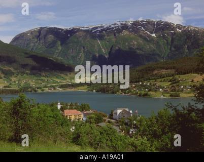 Norway Hordaland Hardanger Ulvik - Stock Photo