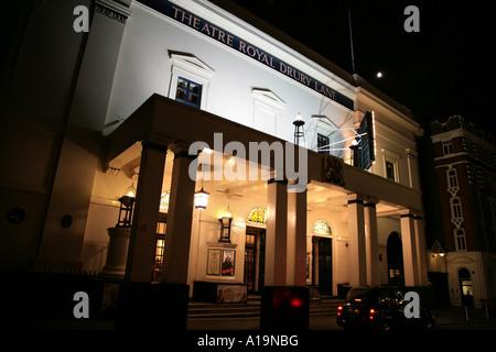 Theatre Royal Drury Lane in London England - Stock Photo