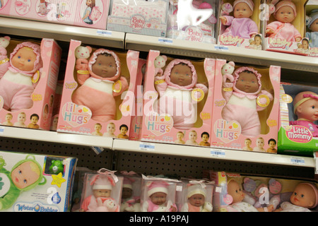 north miami beach florida kmart dolls ethnic black baby toy department shelves for sale lil hugs - Kmart Baby