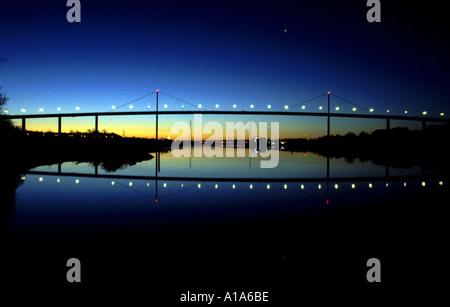 Erskine Bridge Scotland - Stock Photo