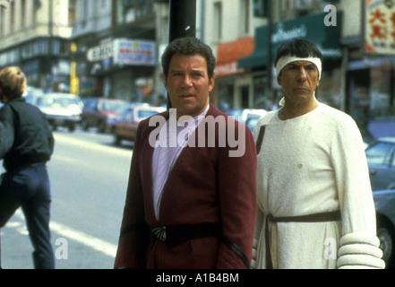 Star Trek IV The Voyage Home Year 1986 Director Leonard Nimoy William Shatner Admiral James T Kirk Leonard Nimoy - Stock Photo