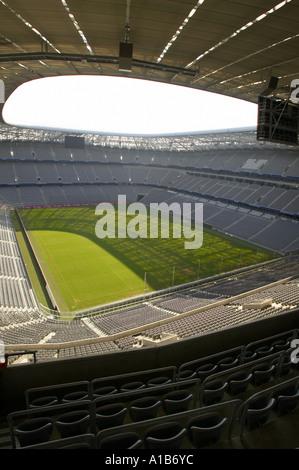 Allianz Arena Stadium Munich Germany - Stock Photo