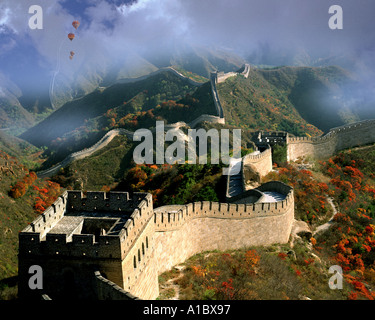 CN - NORTHERN CHINA: The Great Wall - Stock Photo