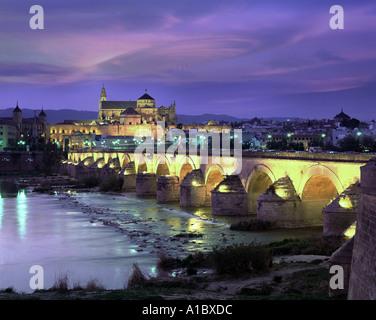 ES - ANDALUSIA: Roman Bridge at Cordoba - Stock Photo