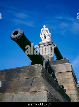 Monument to Admiral Lord Collingwood, Tynemouth, Tyne and Wear, England, UK. - Stock Photo
